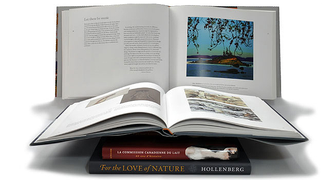 Book design for coffee table books