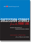 Succession Stories from the Front Line